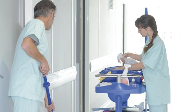 Limpieza e higiene hospitalaria